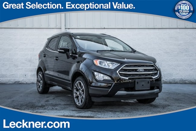 New 2018 Ford EcoSport Titanium SUV in King George, VA