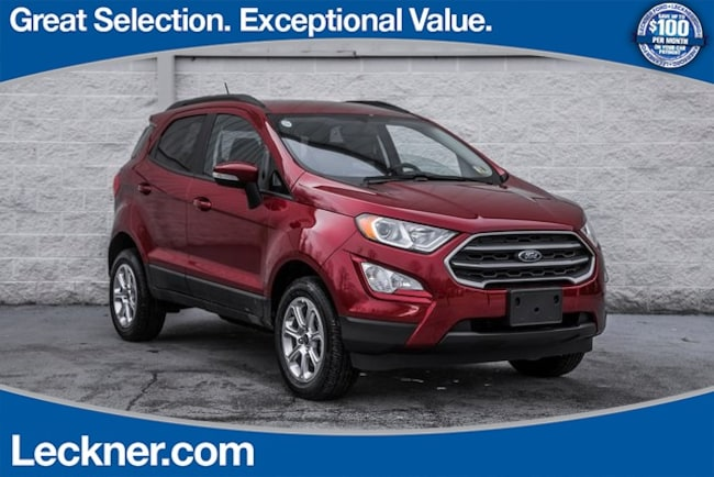 New 2018 Ford EcoSport SE SUV in King George, VA