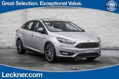 New 2018 Ford Focus SEL Sedan in King George, VA
