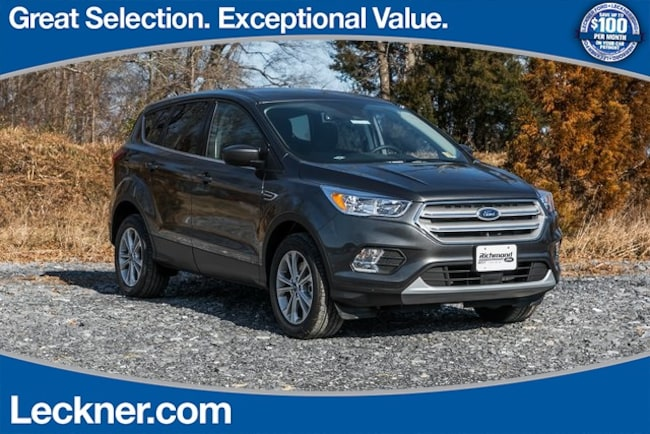 New 2019 Ford Escape SE SUV in Marshall, VA