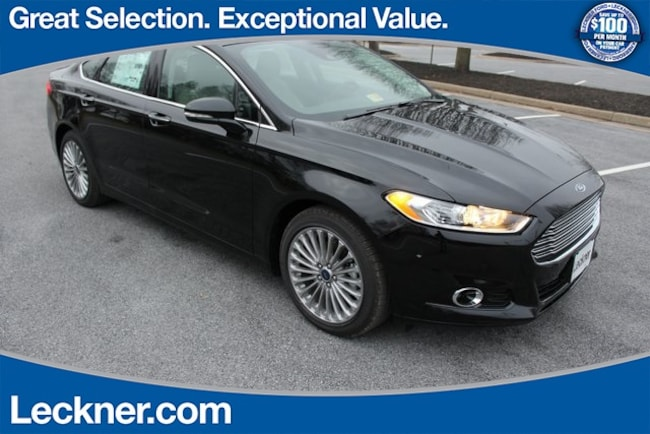 New 2016 Ford Fusion Titanium Sedan in Marshall, VA