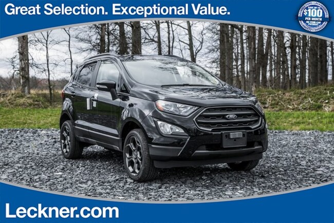 New 2018 Ford EcoSport SES SUV in Marshall, VA