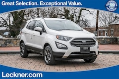 New 2018 Ford EcoSport SES SUV FM174950 in Marshall, VA
