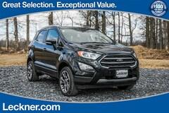 New 2018 Ford EcoSport Titanium SUV FM167392 in Marshall, VA