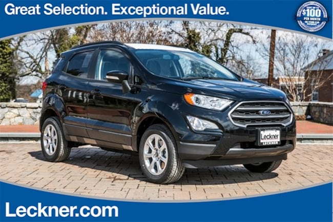 New 2018 Ford EcoSport SE SUV in Marshall, VA