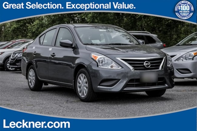 2018 Nissan Versa 1.6 S Plus Sedan