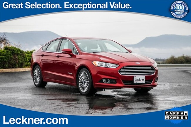 Used 2013 Ford Fusion Hybrid Titanium For Sale King George Va Stock Wp1740
