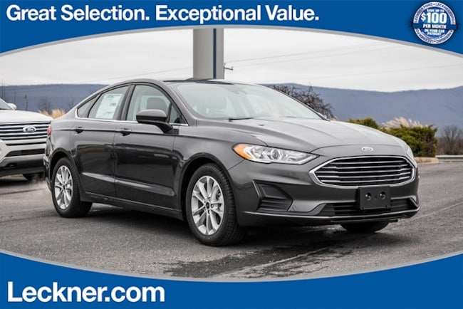 New 2019 Ford Fusion SE Sedan For Sale/Lease Woodstock VA