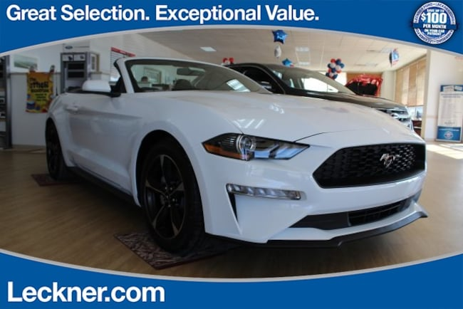 New 2018 Ford Mustang Ecoboost Convertible For Sale/Lease Woodstock VA