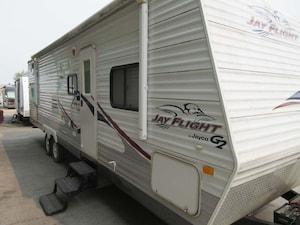 2009 JAYCO 29BHS quad bunk