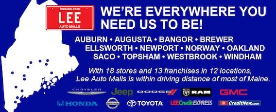 Lee Auto Mall >> Maine New And Used Car Dealer Portland Used Cars Auburn