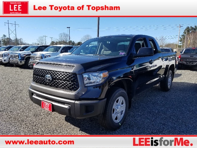 New 2019 Toyota Tundra SR 4.6L V8 Truck Double Cab in Topsham, ME
