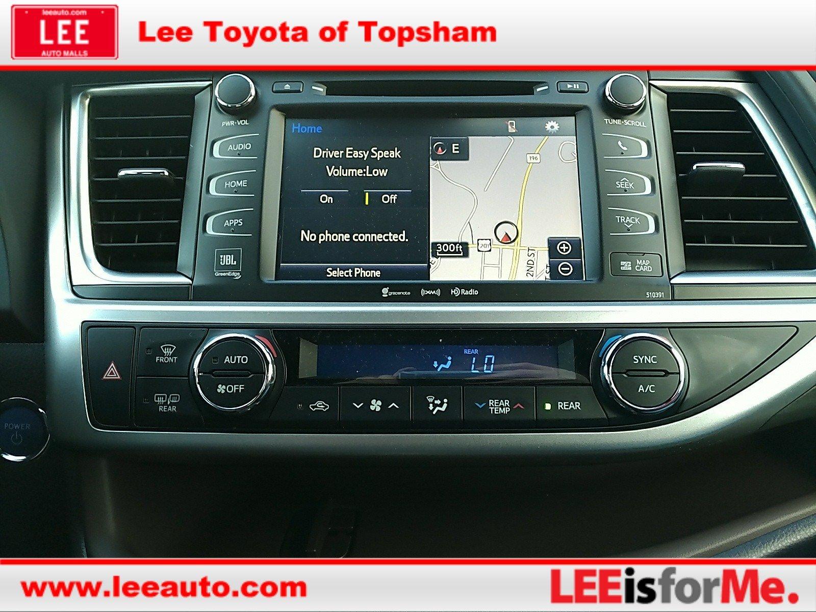 New 2019 Toyota Highlander Hybrid For Sale   Topsham ME