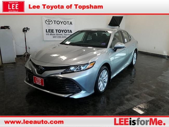 New 2019 Toyota Camry LE Sedan in Topsham, ME