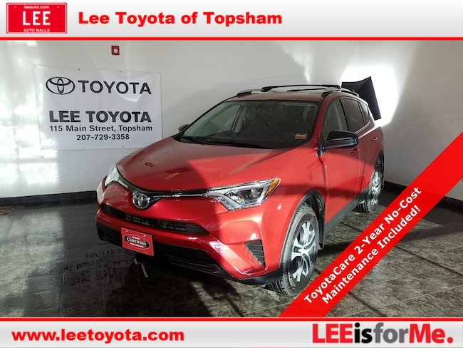 Certified Used 2016 Toyota RAV4 LE SUV in Topsham, MA