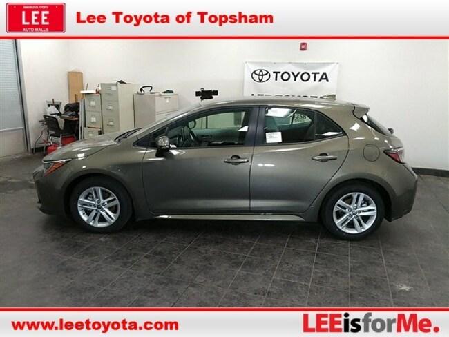 New 2019 Toyota Corolla Hatchback For Sale Topsham Me Vin