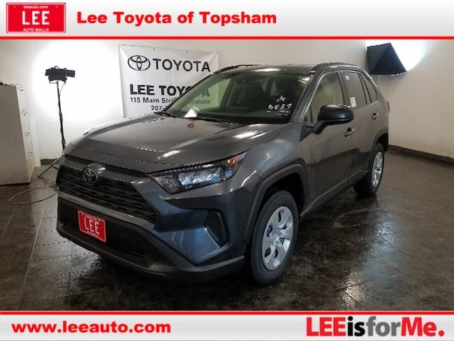 New 2019 Toyota RAV4 LE SUV in Topsham, ME