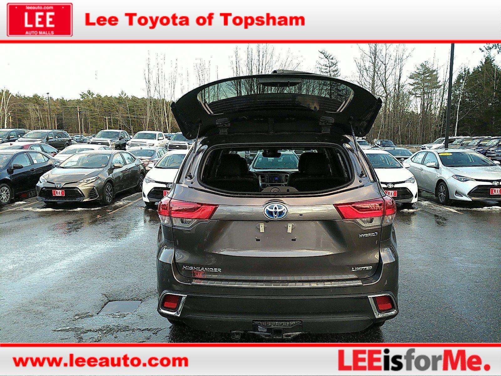 New 2019 Toyota Highlander Hybrid For Sale | Topsham ME