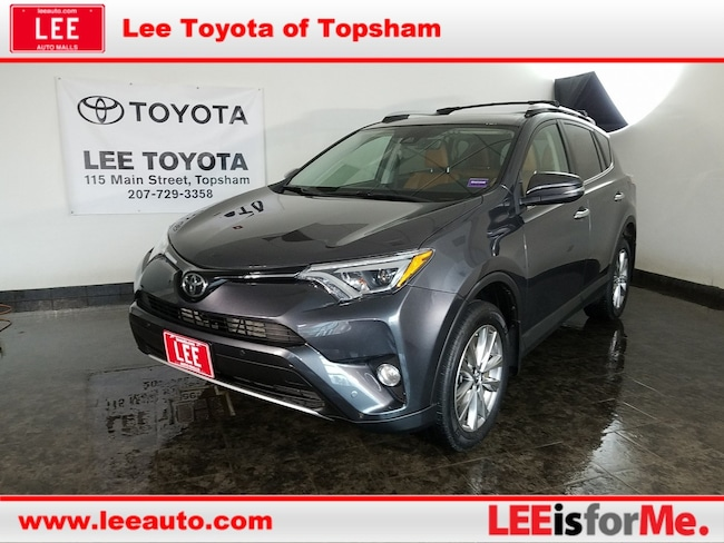 Used 2016 Toyota RAV4 Limited SUV in Topsham, ME
