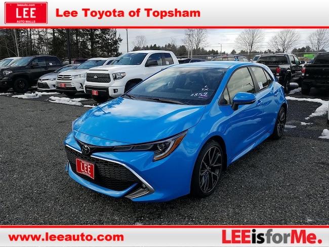 New 2019 Toyota Corolla Hatchback XSE Hatchback in Topsham, ME