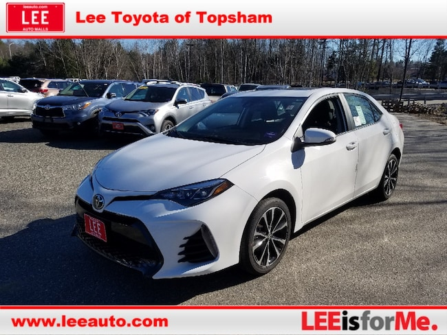 New 2019 Toyota Corolla SE Sedan in Topsham, ME