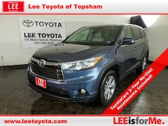 Certified Used 2016 Toyota Highlander LE Plus SUV in Topsham, ME