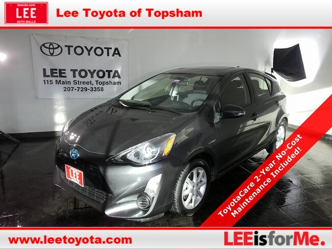 Certified Used 2015 Toyota Prius c Three Hatchback in Topsham, MA