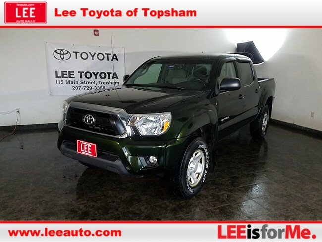 Used 2013 Toyota Tacoma DBL CAB 4WD V6 Truck Double Cab in Topsham, ME