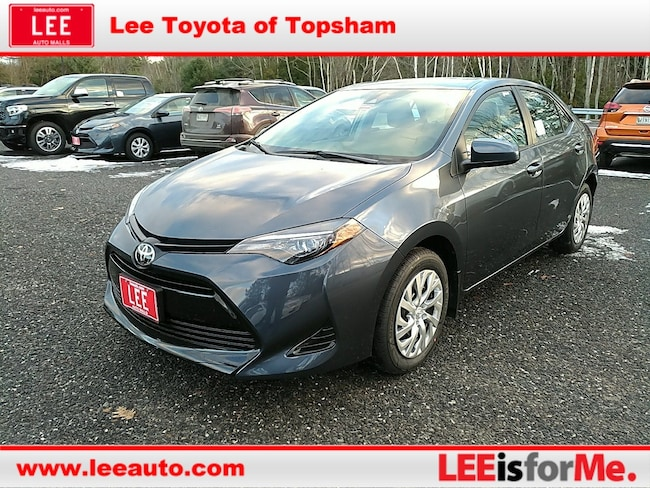 New 2019 Toyota Corolla LE Sedan in Topsham, ME