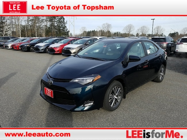 New 2019 Toyota Corolla LE Sedan in Topsham, ME