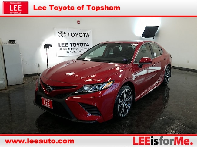 New 2019 Toyota Camry SE Sedan in Topsham, ME