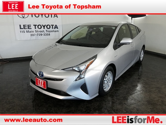 Used 2016 Toyota Prius Two Hatchback in Topsham, ME