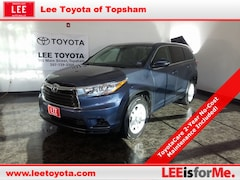 Certified Used 2016 Toyota Highlander LE SUV in Topsham, ME