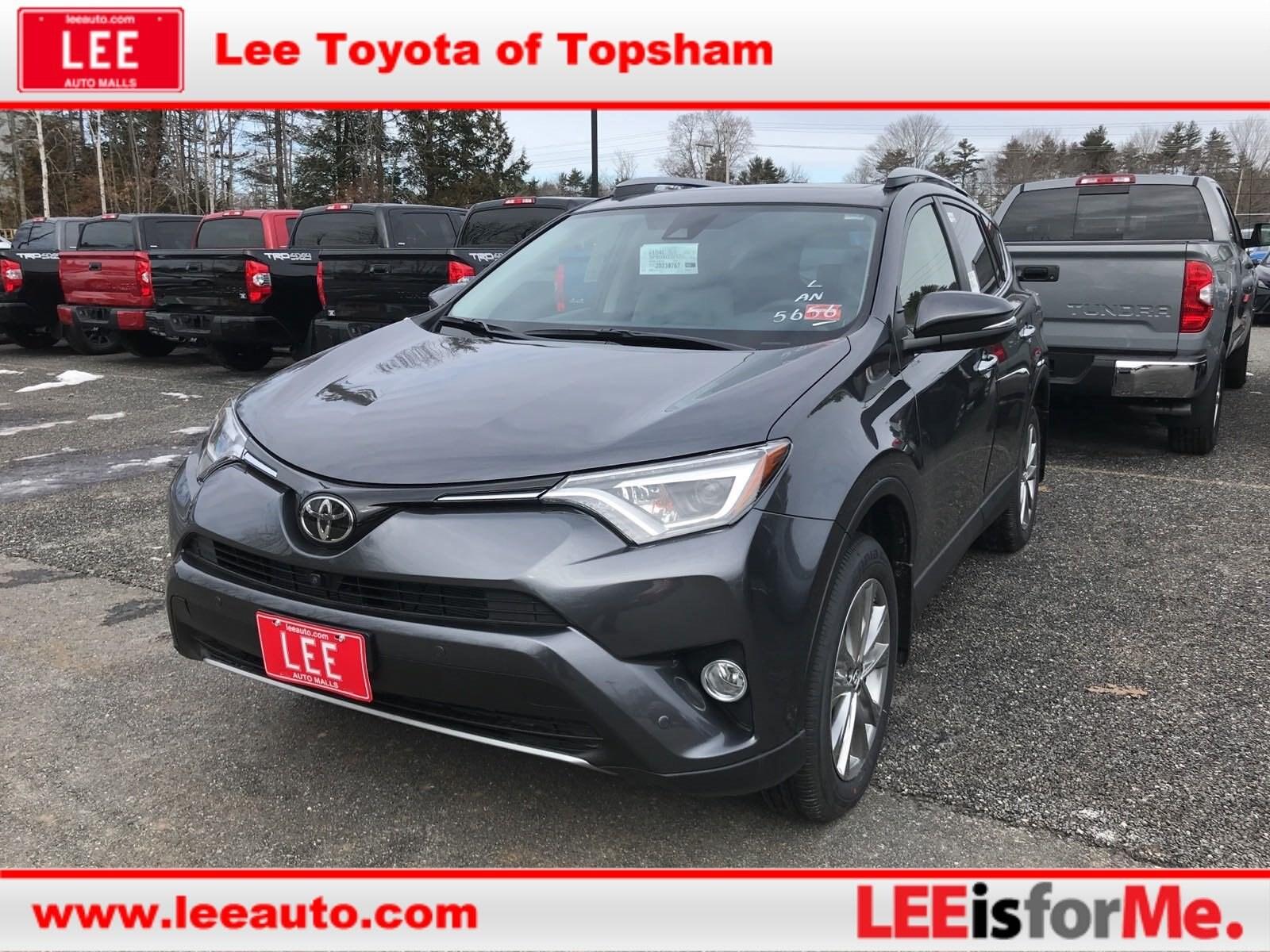2018 Toyota RAV4 Limited SUV