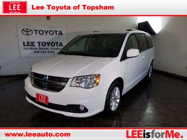 Used 2019 Dodge Grand Caravan SXT Van Passenger Van in Topsham, ME