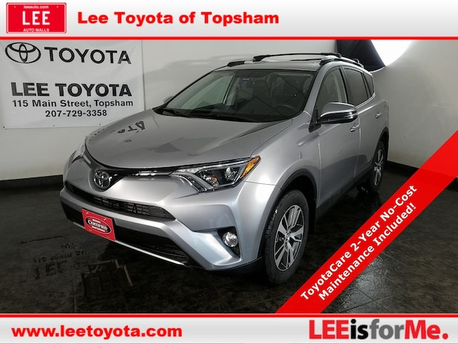 Certified Used 2016 Toyota RAV4 XLE SUV in Topsham, MA