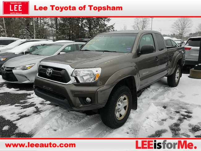Used 2013 Toyota Tacoma ACC CAB 4WD V6 Truck Access Cab in Topsham, ME