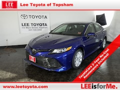 Certified Used 2018 Toyota Camry LE Sedan in Topsham, ME