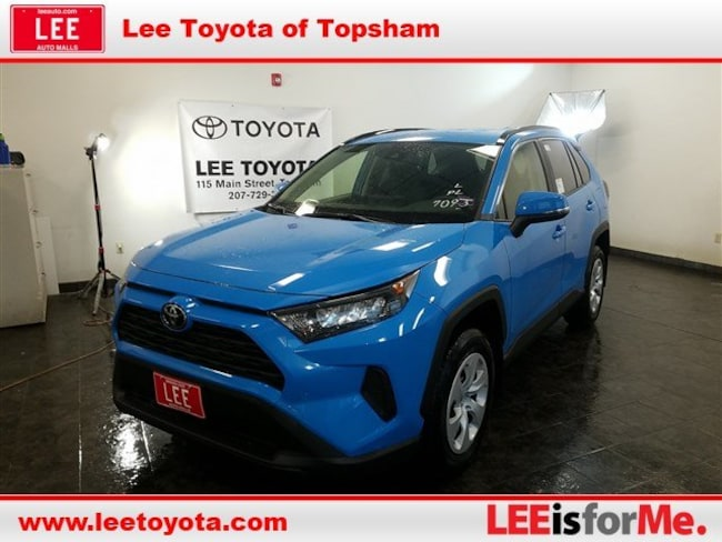 New 2019 Toyota Rav4 For Sale Topsham Me Vin Jtmg1rfv1kj004364