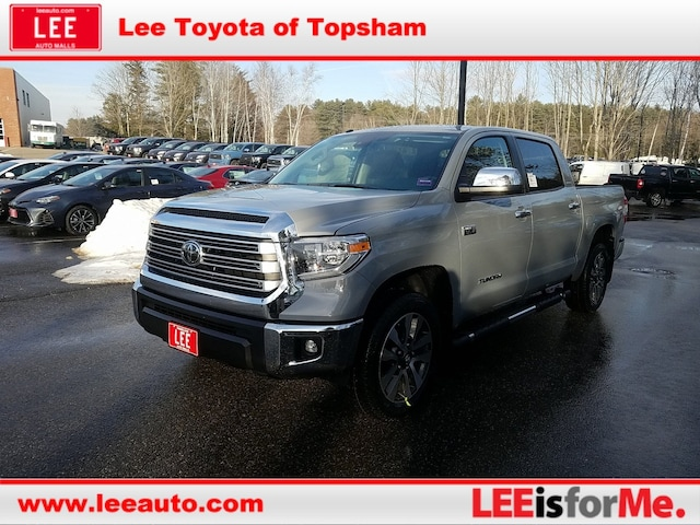 Toyota Tundra For Sale In Maine >> New Toyota Tundra Trucks For Sale In Topsham Me Maine