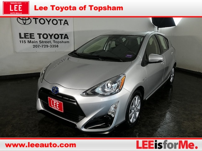 Used 2017 Toyota Prius c Two Hatchback in Topsham, ME