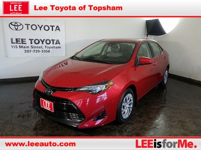 Used 2017 Toyota Corolla LE Sedan in Topsham, ME