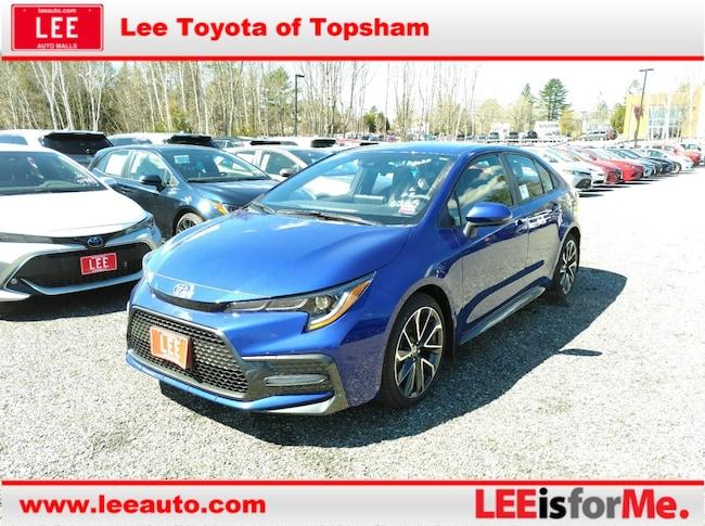 New 2020 Toyota Corolla SE Sedan in Topsham, ME