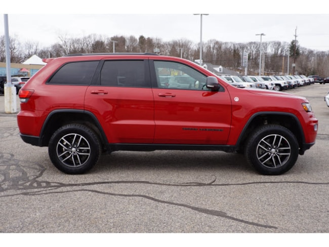 Used 2017 Jeep Grand Cherokee Trailhawk 4x4 For Sale Westbrook Me