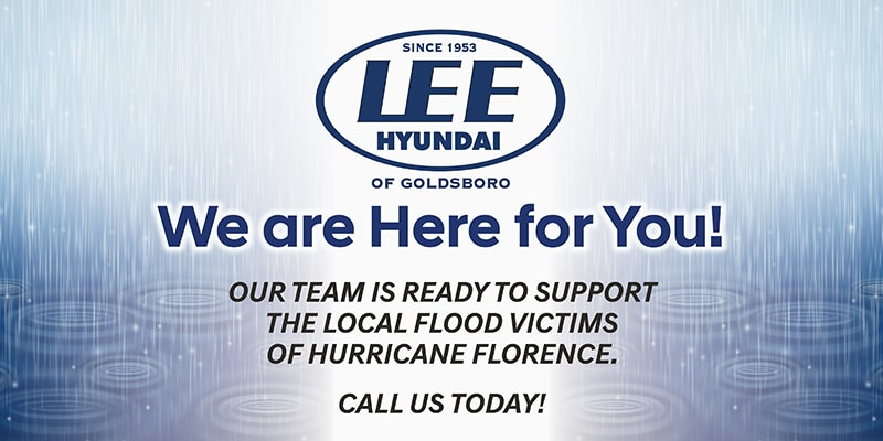 Support For Hurricane Florence Victims Lee Hyundai Of Goldsboro