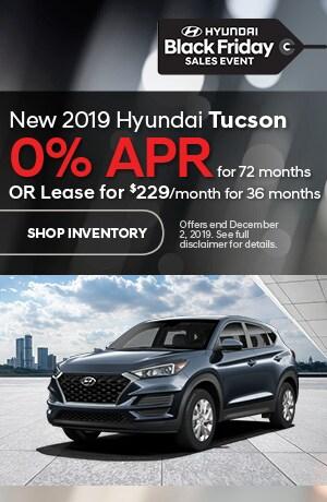 November Tucson Offers