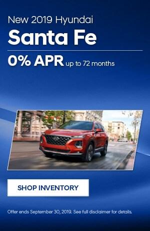 September Santa Fe Offers