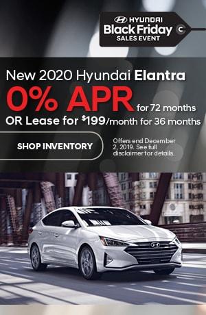 November Elantra Offers