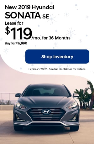 January New 2019 Hyundai Sonota Lease Offer