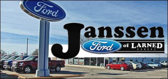 Janssen Ford Holdrege >> Janssen Ford Of Larned Janssen Auto Group